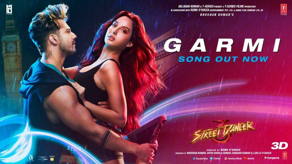 Garmi Lyrics – Street Dancer 3D In English