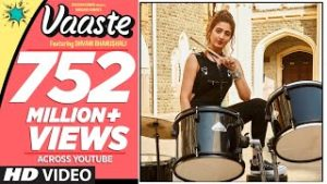 Vaaste Lyrics In English – Dhvani Bhanushali | Song Lyrics In English